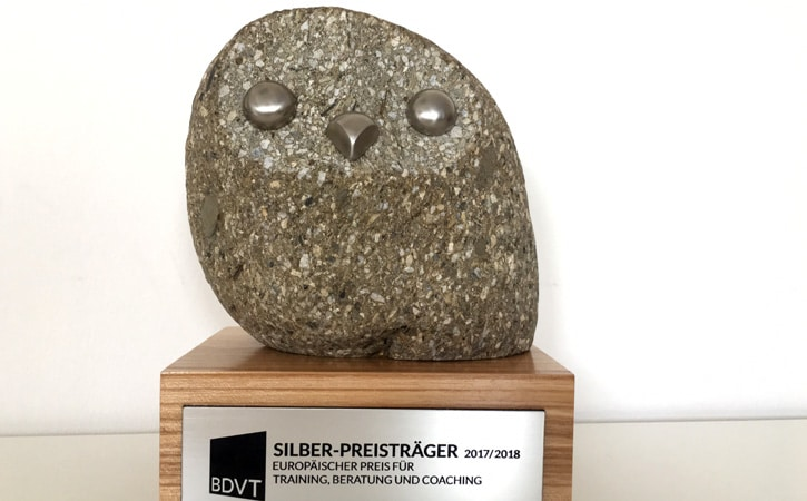 Coachausbildung bei der Michl Group Silberpreisträger 2017/18 BDVT