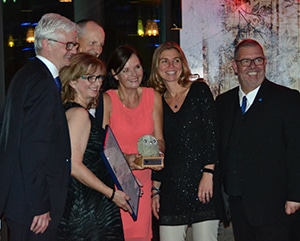 Preisverleihung BDVT Silberpreisträger 2017/2018